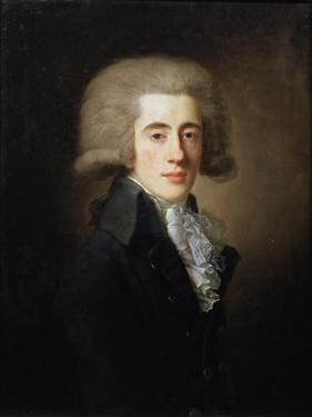 Portrait of the Vice-Chancellor Nikita Panin, (1770-183), 1792 by Jean Louis Voille