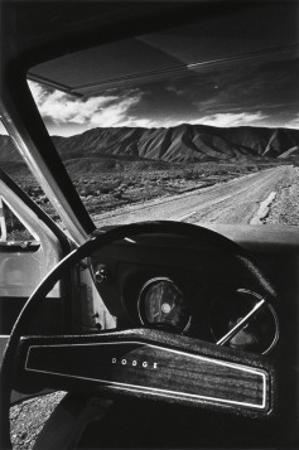 Dodge's Wheel (Death Valley, California, 1977) by Jean-Loup Sieff