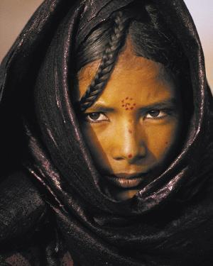 Young Taureg Woman Niger by Jean-Luc Manaud