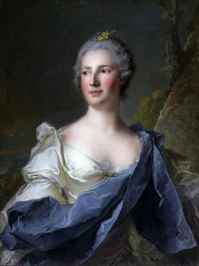 Barbara Luigia D'Adda, Wife of Antonio Barbiano from Belgiojoso by Jean-Marc Nattier