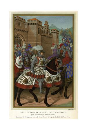 1507 Louis XII in Armour