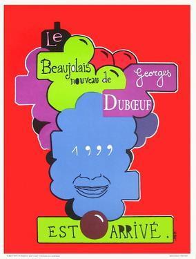 Beaujolais nouveau Georges Duboeuf by Jean Michel Alberola