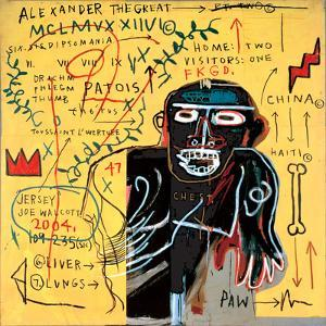 All Coloured Cast (Part Iii) by Jean-Michel Basquiat