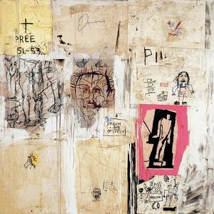 Big Shoes 2 by Jean-Michel Basquiat