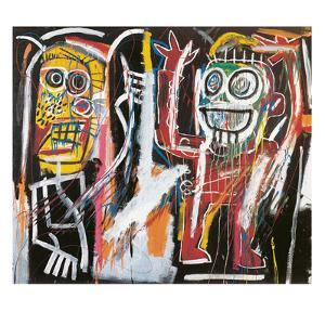 Dustheads, 1982 by Jean-Michel Basquiat