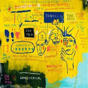 Hollywood Africans, 1983 by Jean-Michel Basquiat