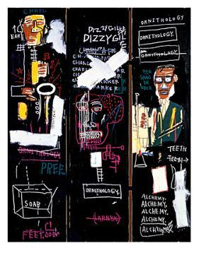 Horn Players, 1983 by Jean-Michel Basquiat