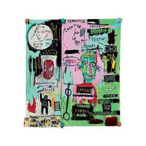 In Italian, 1983 by Jean-Michel Basquiat