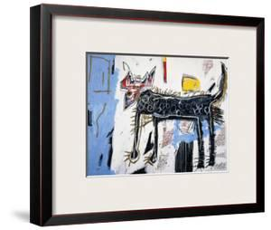 Part Wolf by Jean-Michel Basquiat