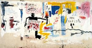 Per Capita, 1981 by Jean-Michel Basquiat