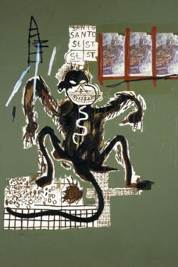 Sacred Ape by Jean-Michel Basquiat