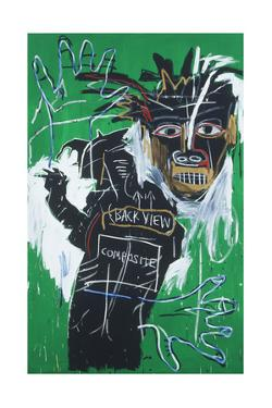 Self-portrait as a Heel Part Two by Jean-Michel Basquiat