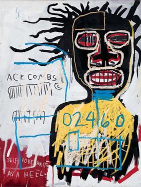 Self-Portrait as a Heel by Jean-Michel Basquiat
