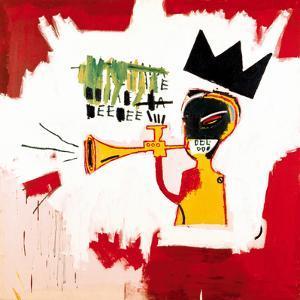 Trumpet, 1984 by Jean-Michel Basquiat