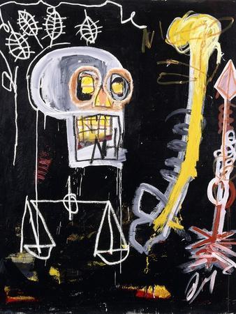 Untitled (Black Skull)