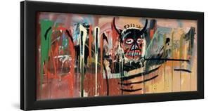 Untitled (Devil) by Jean-Michel Basquiat