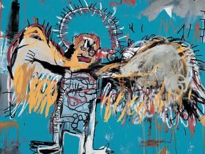 Untitled (Fallen Angel), 1981 by Jean-Michel Basquiat