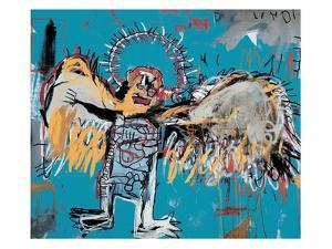 Untitled (Fallen Angel), 1981 by Jean-Michel Basquiat