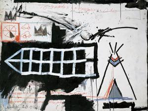 Untitled (Samo, New York) by Jean-Michel Basquiat
