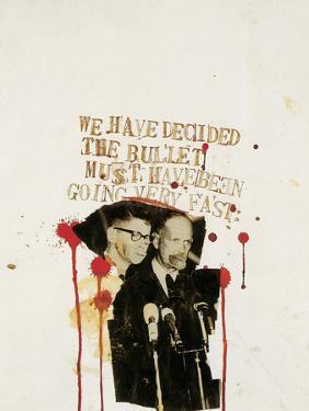 We Have Decided the Bullet Must Have Been Going Very Fast by Jean-Michel Basquiat