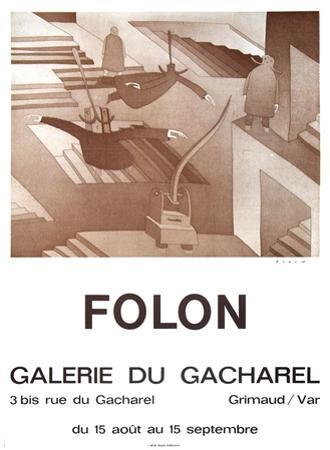 Galerie Du Cacharel by Jean Michel Folon
