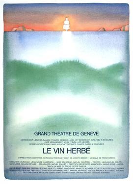Le Vin Herbe by Jean Michel Folon