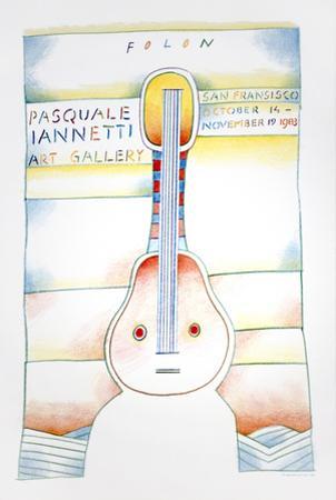 Pasquale Iannetti Art Gallery by Jean Michel Folon