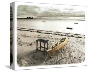 Bateau Sur Plage by Jean Onesti