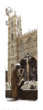 Saxophone Player by Jean Onesti