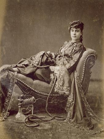 A Turkish Lady Seated, C.1880 by Jean-Pascal Sebah