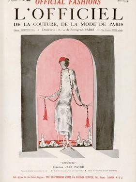 L'Officiel, August 1924 - Brumeuse by Jean Patou