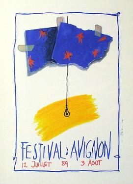 Festival D'Avignon 1989 by Jean-Paul Chambas