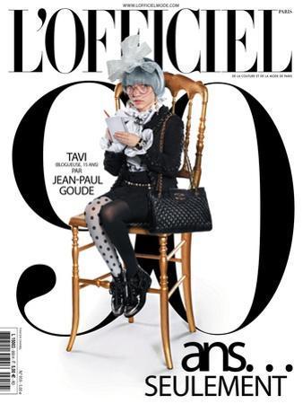 L'Officiel, October 2011 - Tavi Gevinson