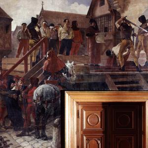 Execution of Jean Desmartes, 1383 by Jean-Paul Laurens