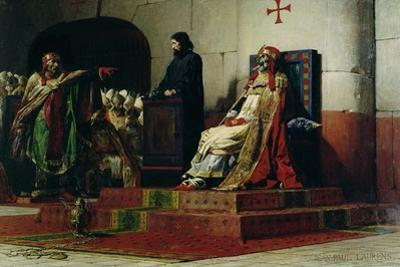 Pope Formosus (816-896) and Pope Stephen VI in 897 by Jean Paul Laurens