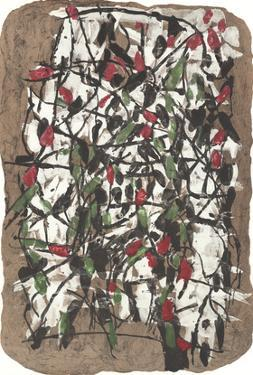 Composition XVIII-160 by Jean-Paul Riopelle