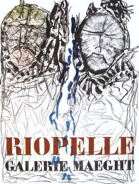 Expo 74 - Galerie Maeght by Jean-Paul Riopelle