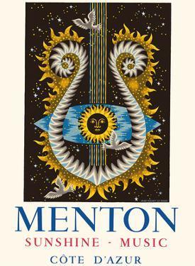 Menton, France - Cote d'Azur - Sunshine and Music by Jean Picart le Doux