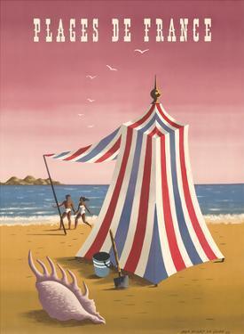 Plages de France (Beaches of France) by Jean Picart le Doux