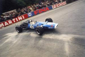 Jean-Pierre Beltoise Driving a Matra, Belgian Grand Prix, Spa-Francorchamps, 1968