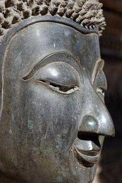 Detail of Statue of the Buddha by Jean-Pierre De Mann