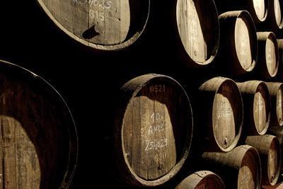 Port Wine Cellar, Vila Nova De Gaia, Oporto, Portugal, Europe