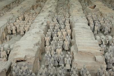 Terracotta Army, Guarded the First Emperor of China, Qin Shi Huangdi's Tomb