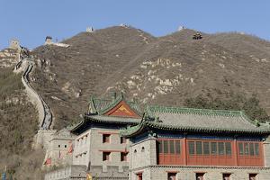 The Great Wall of China, UNESCO World Heritage Site, Juyongguan Pass, China, Asia by Jean-Pierre De Mann