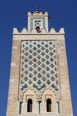 The Medersa Mosque, Medina, Marrakesh, Morocco, North Africa, Africa by Jean-Pierre De Mann