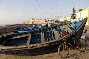 The Old Fishing Port, Essaouira, Historic City of Mogador, Morocco, North Africa, Africa by Jean-Pierre De Mann