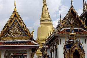 The Temple of the Emerald Buddha, Grand Palace, Bangkok, Thailand, Southeast Asia, Asia by Jean-Pierre De Mann