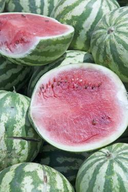 Watermelons, Ed Damer Village, Sudan, Africa by Jean-Pierre De Mann