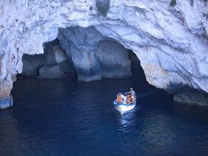 Blue Grotto by Jean-pierre Lescourret