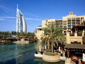 Burj Al Arab and Medinat Hotels by Jean-pierre Lescourret